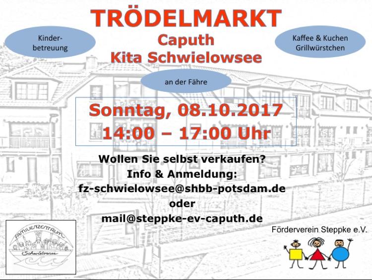 Kita Schwielowsee Herbst Trödelmarkt 2017 - Steppke e.V. Caputh