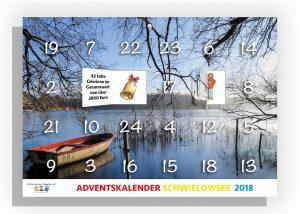 Adventskalender Schwielowsee 2018 vom Steppke e.V. Caputh