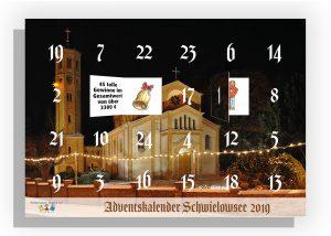 Adventskalender Schwielwosee 2019 des Kita Fördervereins Steppke e.V. Caputh