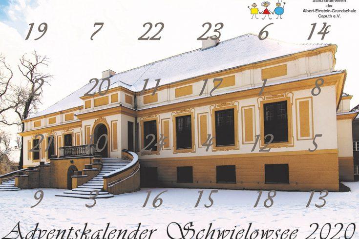 Adventskalender Schwielowsee 2020. Steppke e.v. Caputh